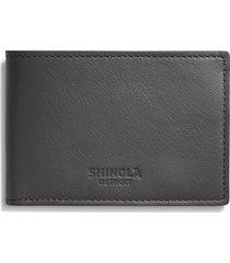 men's shinola super slim leather wallet -