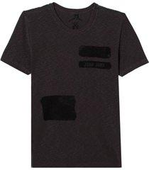camiseta john john rg military masculina (cinza chumbo, gg)