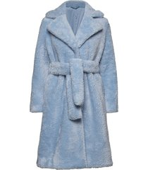 2nd lalla outerwear faux fur blauw 2ndday