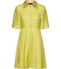 sohan by nbs korte jurk geel custommade