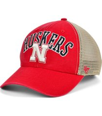 '47 brand nebraska cornhuskers outland trucker cap