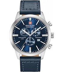 reloj casual azul swiss military