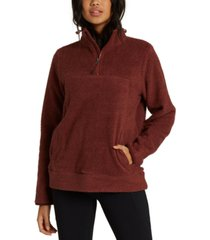 billabong juniors' boundary water-repellent fleece sweatshirt