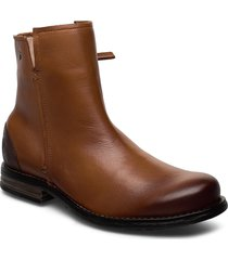 shady shoes boots ankle boots ankle boots flat heel brun sneaky steve