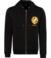 versace full zip hoodie