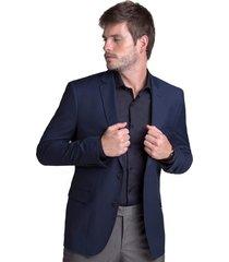 blazer paletó buckman alfaitaria azul marinho