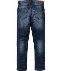 jeans elasticizzati classic fit straight (blu) - john baner jeanswear