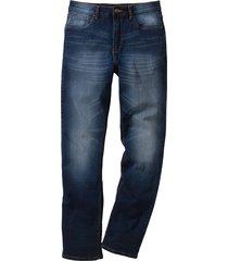jeans elasticizzato classic fit straight (blu) - john baner jeanswear