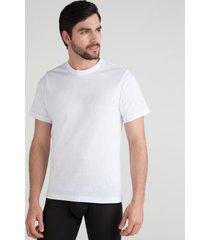 camiseta interior rib ancho blanco m