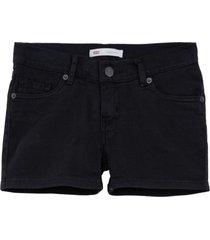 shorts levis infantil preto