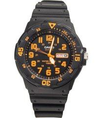 reloj casio mrw_200h_4bv negro resina