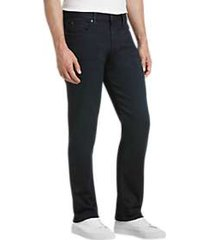 joe's jeans saville row ledger dark blue wash slim fit jeans