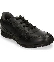 zapatillas escolares negro verlon nadim v hombre
