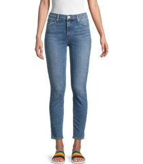 hudson women's blair high-rise super skinny jeans - jakarta - size 25 (2)