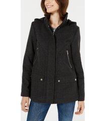 celebrity pink juniors' hooded coat