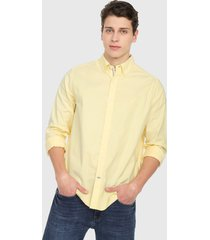 camisa amarillo nautica