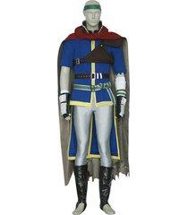 fire emblem ike male costume ike cosplay outfit men halloween carnival uniform