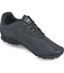 zapatos lineablanca aeroflex negro unicolor pt1742