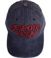 gorra azul vinson despotic