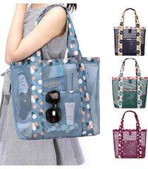 sacchetto di spalla borsa leggera leggera del sacchetto di immagazzinaggio della borsa di nylon
