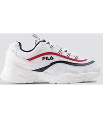 fila ray low wmn sneaker - white