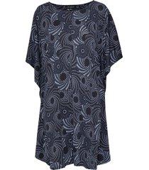 dress knälång klänning blå ilse jacobsen