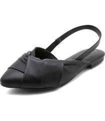 slipper negros beira rio
