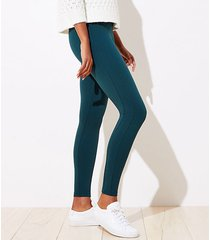 loft petite leggings in ponte