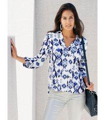 shirt amy vermont offwhite::blauw