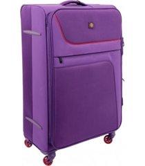 maleta swissbrand capri tr case 20-morado con envio gratis