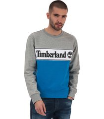 mens cut & sew logo sweatshirt
