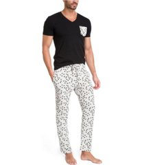 jared lang pajama set in gift box - bees