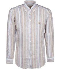 etro striped shirt