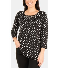 ny collection embellished top