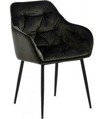 krzesło fotel tapicerowany wayn dark grey