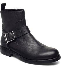 tarah biker-gc shoes boots ankle boots ankle boot - flat svart boss
