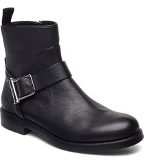 tarah biker-gc shoes boots ankle boots ankle boot - flat svart boss