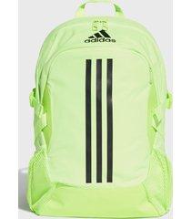 mochila power v verde fluorescente adidas performance