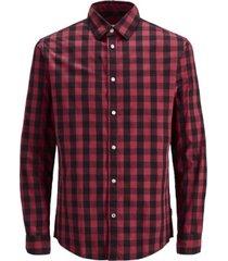 jack & jones men's essential gingham shirt