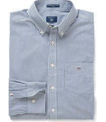 gant heren overhemd persian gestreept button-down poplin regular fit