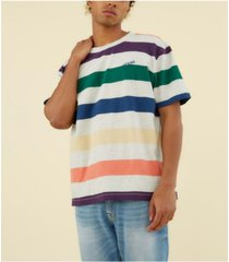 guess men's originals striped tee