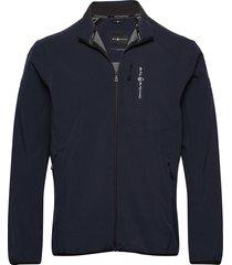 spray softshell jacket tunn jacka blå sail racing