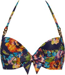 jardin des fleurs push up bikini top | wired padded floral - 34d