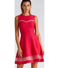 sukienka z przezroczystymi detalami