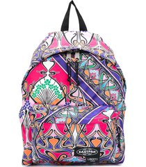 eastpak padded pak'r printed backpack - purple