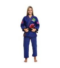 kimono jiu jitsu combat feminino adulto dragão