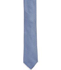 gravata micropadrão - azul médio - u