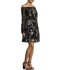 ainsley off-the-shoulder dress