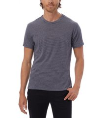 alternative apparel men's striped crew t-shirt