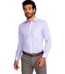 camisa formal lila guy laroche